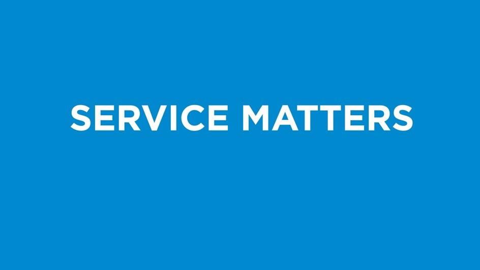 Service Matters.