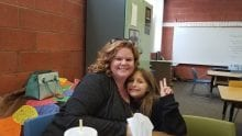 Employee, Stephanie Abramo with mentee from Big Brothers Big Sisters of Southern Arizona